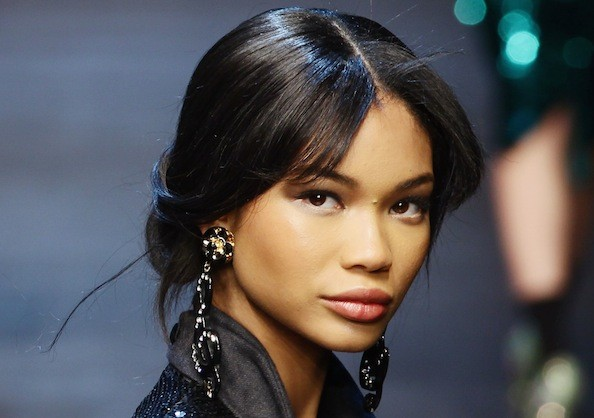 Gaining Weight Takes Work for Chanel Iman