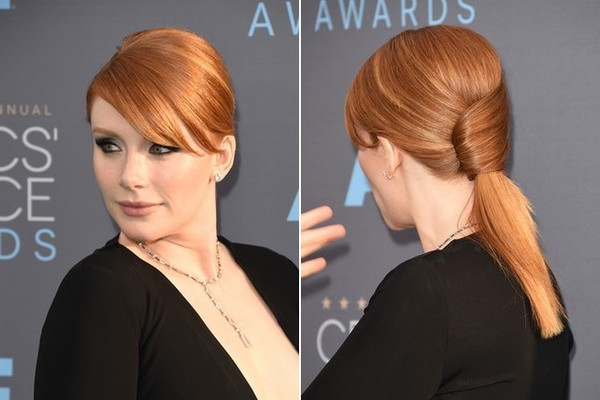 Bryce Dallas Howard's Sculptured Ponytail