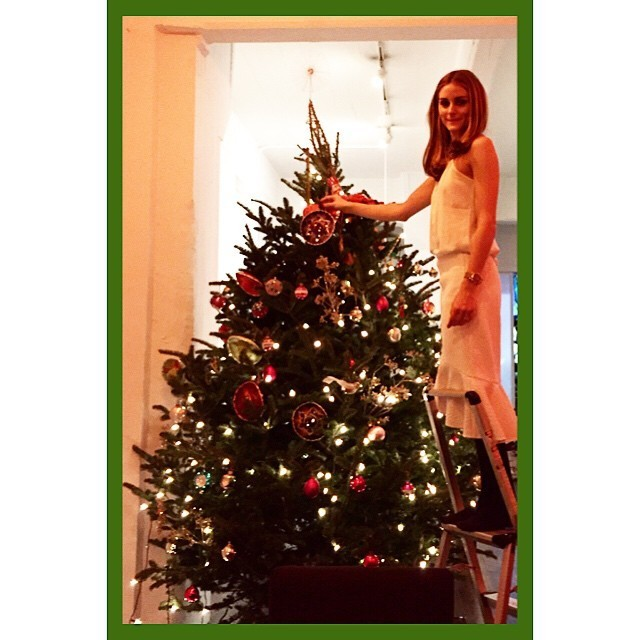 Olivia Palermo Tops Off Her Christmas Tree The Week 39 S