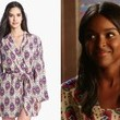 Antoinette Robertson's Printed Kimono Robe on 'Hart of Dixie'