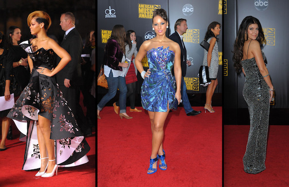 Best and Worst Dressed at the American Music Awards 2009