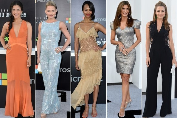 Best Dressed at the 'Star Trek Into Darkness' Hollywood Premiere