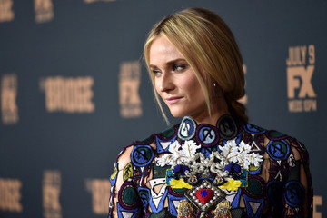 Hair Envy: Diane Kruger's Hidden, Peek-a-Boo Braid