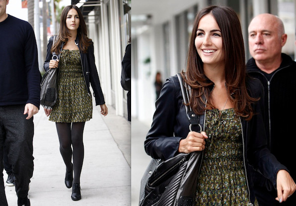 Camilla Belle Makes a Summer Dress Winter Wear