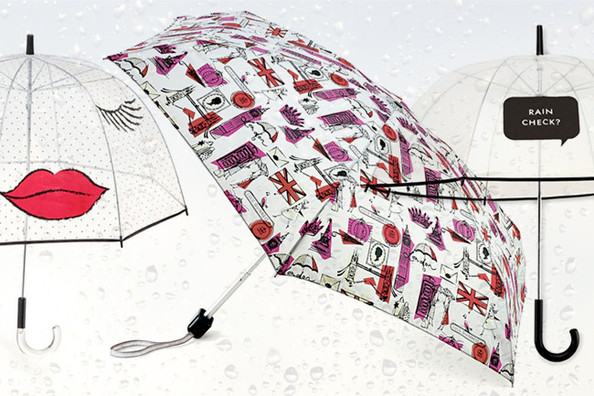 Ten Fashionable Umbrellas for Fending Off April Showers