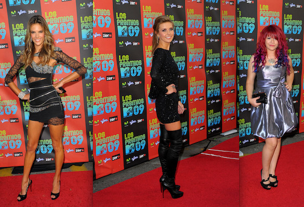 Best and Worst Dressed at the 2009 Premios MTV Latin America