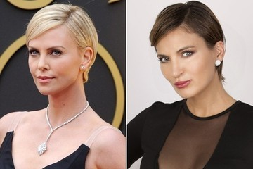 Get The Red Carpet Hair Look: Charlize Theron