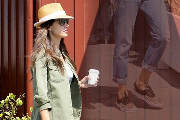 Alessandra Ambrosio's Low-Key Look