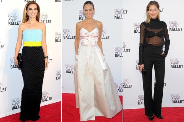 Best Dressed at the New York City Ballet 2013 Fall Gala