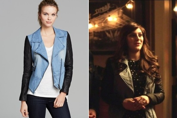 Aubrey Peeples's Mixed Media Jacket on 'Nashville'