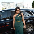 Mindy Kaling in Forest Green