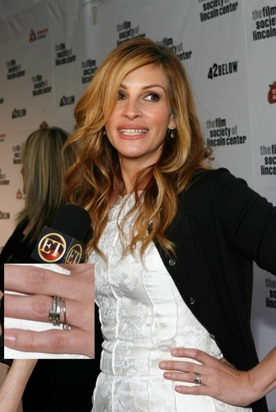Julia Roberts Celebrity Engagement Rings Stylebistro