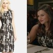 Mindy Kaling's Printed Sequin Sheath on 'The Mindy Project'