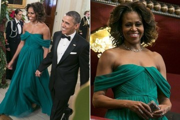 #TBT: Michelle Obama's Gorgeous Holiday Look
