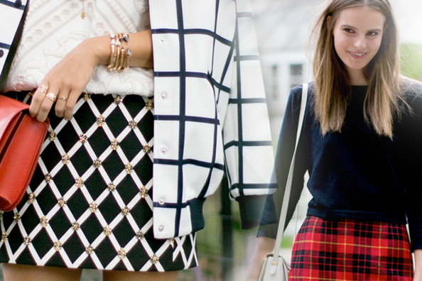 Checks Mix: 21 Ways to Work Fall's Favorite Patterns