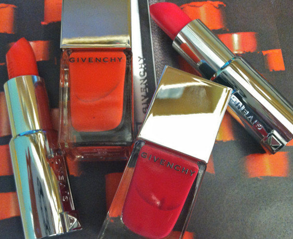 Givenchy's New Lipstick Line Comes with Matching Nail Polish