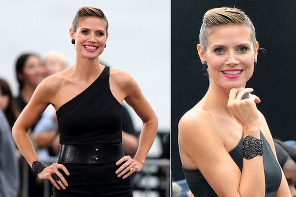 Heidi Klum Debuts New QVC Jewelry Line on 'Project Runway'
