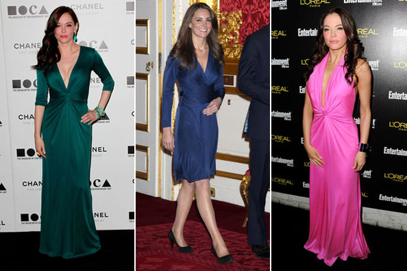 Rose McGowan Shares Kate Middleton's Style