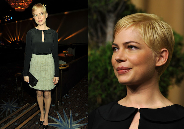 Look of the Day: Michelle Williams in Chanel