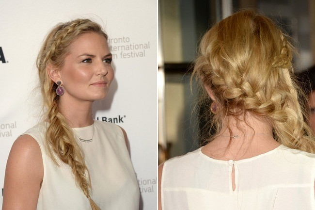 Jennifer Morrison's Braid DIY