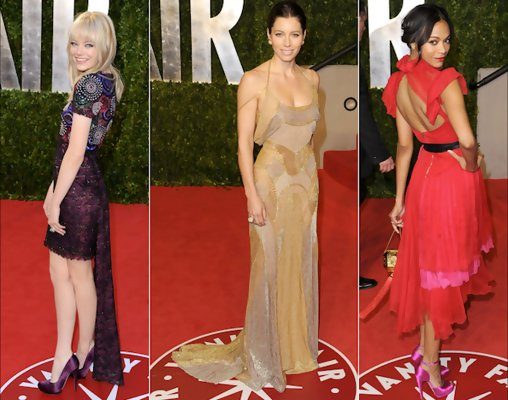 Best and Worst Dressed at the 2011 Oscars After-Parties