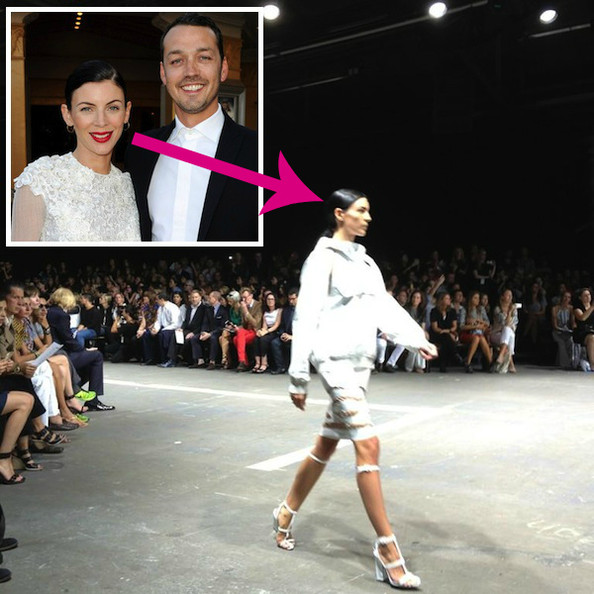 Liberty Ross, Whose Husband Kristen Stewart Cheated With, Modeled at Alexander Wang