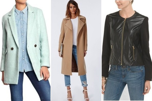 Easy Outfit Upgrade: Drape Your Jacket Over Your Shoulders