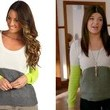 Casey Wilson's Color-Block Sweater on 'Happy Endings'
