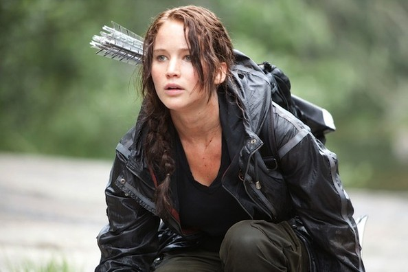 Jennifer Lawrence is Brunette Again, Katniss Everdeen Returns!