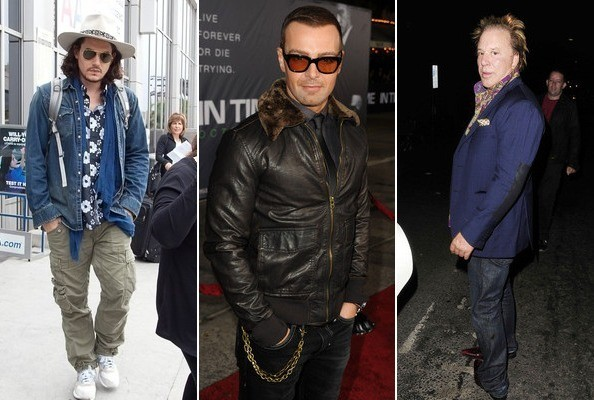 Crazy Celebrity Looks Guy Edition Stylebistro