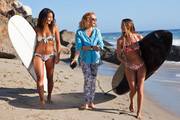 See Diane von Furstenberg's New Roxy Bikinis and Surf Gear