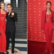 Leslie Bibb and Joan Smalls in Pamella Roland
