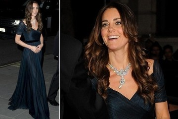 Kate Middleton's Royal Blue Style