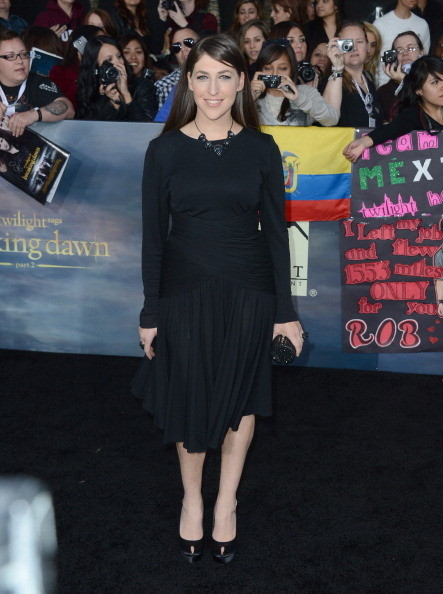 "Mayim Bialik at 'The Twilight Saga: Breaking Dawn - Part 2"" Premiere"