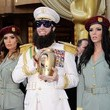 "Sacha Baron Cohen's ""Dictator"" Get-Up"