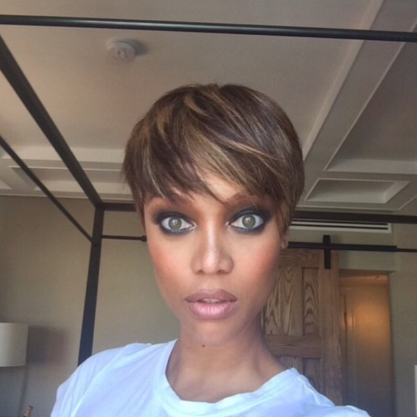 tyra banks 39 pretty pixie celebrity hair cuts and color