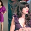 Zooey Deschanel's Purple Dress on 'So You Think You Can Dance'