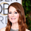 Julianne Moore's Bedhead Waves and Mauve Lips