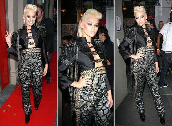 Hot or Not: Kimberly Wyatt's Military Rock Star Look