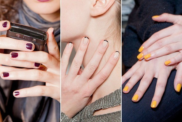 The Hottest Manicures at New York Fashion Week Fall 2012