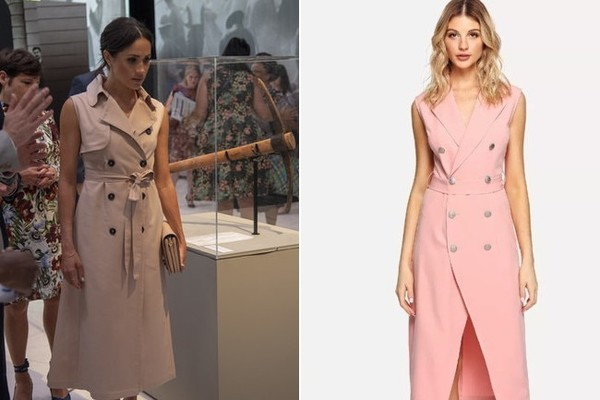 The Look: Pink Button Dress ($27)