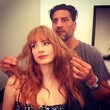 Jessica Chastain Gets Bangs