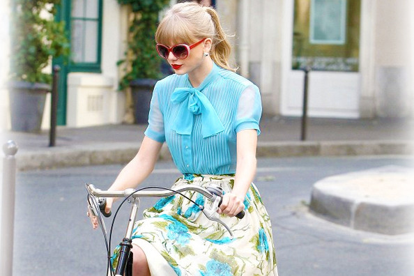 Taylor Swift's 'Begin Again' Music Video Outfits
