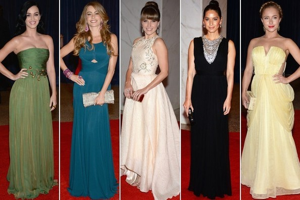 Best Dressed at the 2013 White House Correspondents' Association Dinner