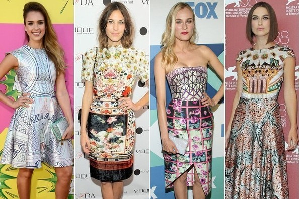 Celebs Heart Mary Katrantzou's Fantastical Prints
