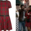 Mindy Kaling's Tartan Dress on 'The Mindy Project'