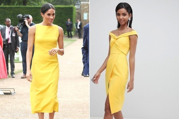 The Look: Yellow Dress ($103)