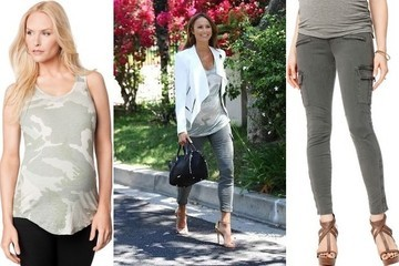 Found: Stacy Keibler's Stylish Maternity Outfit