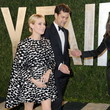 Diane Kruger Wore Giambattista Valli at the Vanity Fair Oscars Party 2013