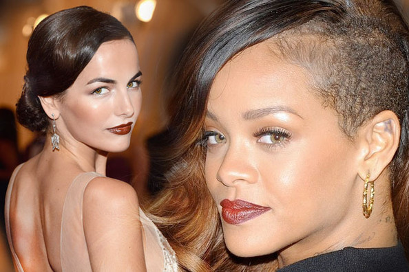 The Top 15 Prettiest Red Carpet Dark Lipstick Moments